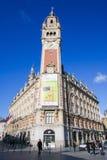 Chambre de commerce à Lille, France Images libres de droits