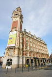 Chambre de commerce in Lille, France Stock Photos