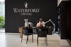 Chambre de cristal de Waterford Images libres de droits