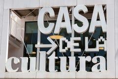 Chambre de culture à Lloret de Mar, Espagne Images stock
