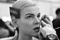 Chambre de défilé de mode de canon Photos libres de droits