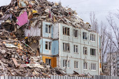 Chambre de démolition Photographie stock libre de droits
