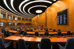 Chambre de Chambre du Dakota du Nord Images libres de droits