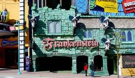 Chambre de Frankenstein en Clifton Hill photographie stock
