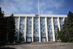 Chambre de gouvernement à Chisinau, Moldau Images stock