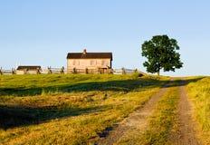 Chambre de Henry au champ de bataille de Manassas images stock