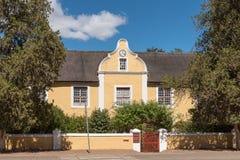 Chambre de Herrnhut dans Genadendal, construit 1838 photos libres de droits