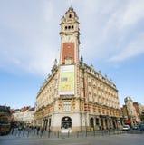 Chambre de kommers i Lille, Frankrike Fotografering för Bildbyråer