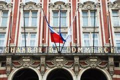 Chambre de Kommers, Lille Royaltyfria Foton