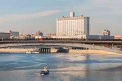 Chambre de la Fédération de Russie de gouvernement Photos stock