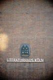 Chambre de la littérature Cologne Image stock