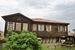 Chambre de la vieille ville de Sozopol Images stock