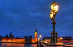 Chambre de Londres du Parlement Images libres de droits