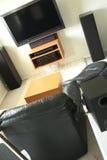Chambre de maison de pièce d'Entertaiment Photo stock