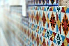 Chambre de mosaïque au Portugal Images libres de droits