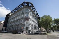 Chambre de musée de terreur à Budapest images stock
