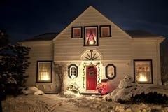 Chambre de Noël images stock