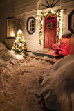 Chambre de Noël Image libre de droits