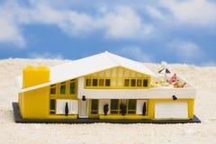 Chambre de plage Images stock
