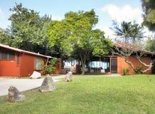 Chambre de plage de Waimanalo Images libres de droits