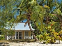 Chambre de plage grande des Iles Cayman de caïman Photos libres de droits