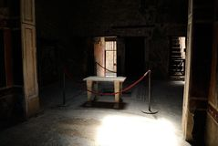 Chambre de Pompéi Photographie stock