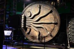Chambre de porte de secrets, studio de Warner Bros Images libres de droits