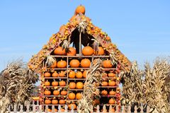 Chambre de potiron de Halloween Image stock