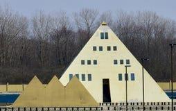 Chambre de pyramide d'or d'Onan's image stock