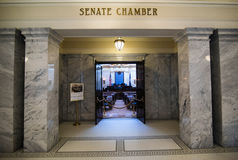 Chambre de sénat du capitol d'état de l'Utah photographie stock libre de droits