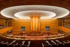 Chambre de sénat du Dakota du Nord photo libre de droits