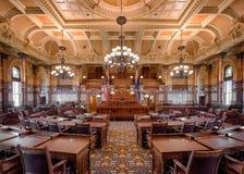 Chambre de sénat du Kansas images stock