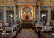 Chambre de sénat du Michigan photos libres de droits