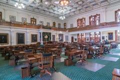 Chambre de sénat en Texas State Capitol dans Austin, TX photographie stock libre de droits