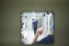 Chambre de secours de salle d'hôpital image libre de droits