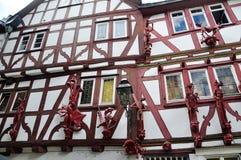 Chambre de sept péchés mortels, Limbourg, Allemagne Photo libre de droits