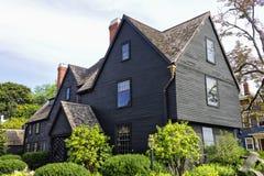 Chambre de sept pignons Salem Photographie stock libre de droits