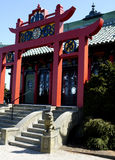 Chambre de thé chinoise photographie stock libre de droits