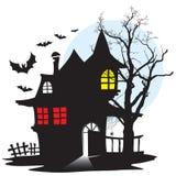 Chambre de vampire illustration de vecteur