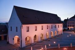Chambre des arts à Sibiu Transilvania Photographie stock