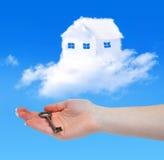 Chambre des nuages Photo libre de droits