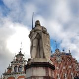 Chambre des points noirs, Riga, Lettonie Image libre de droits