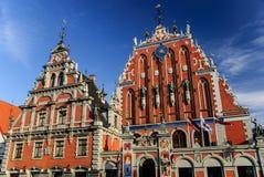 Chambre des points noirs, Riga, Lettonie Photographie stock