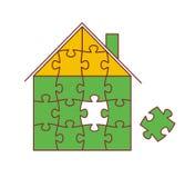 Chambre des puzzles Images libres de droits