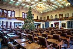Chambre des représentants de Texas State Capitol image stock