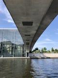 Chambre des représentants du Bundestag allemand à Berlin Images libres de droits
