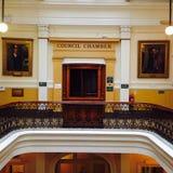Chambre du conseil Photo stock