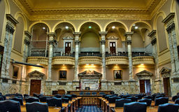 Chambre du Maryland de chambre de délégués à Annapolis Photos stock