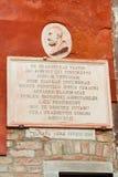 Chambre du ` s de Tintoretto à Venise Image libre de droits