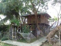 Chambre en bambou photographie stock